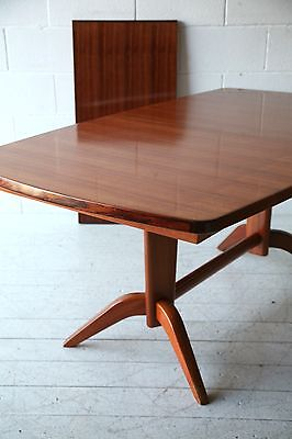 Vintage 1950s Rosewood Extending Dining Table by Gordon Russell