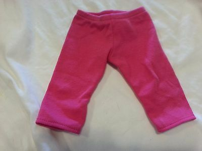 American Girl Doll BITTY BABY TWINS Twins Chef Outfit PINK PANTS LEGGINGS ONLY