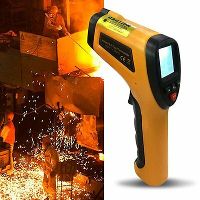 High Temperature Professional Infrared Thermometer With Type K Input HT-862 RS