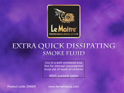 Le Maitre USA - Extra Quick Dissipating Smoke Fluid  4L
