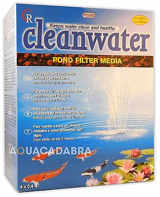 @ Cleanwater Pond Filter Media P1000 Crystal Clear Pond Water Koi Fish Tank