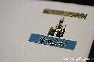1973 Disneyland Executive Letterhead Gold Embossed Castle Walt Disney 50th Anniv