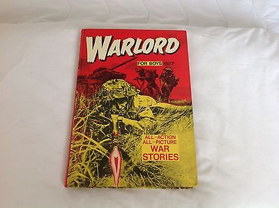 Warlord Book For Boys 1977
