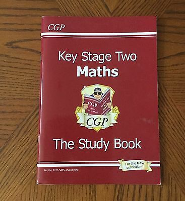 KS2 Maths: Study Book by CGP Books (Paperback, 2008)