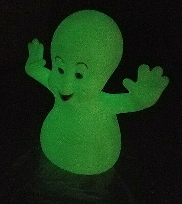 Vintage 1995 Casper the Friendly Ghost Glow in the Dark Plastic Figurine Collect