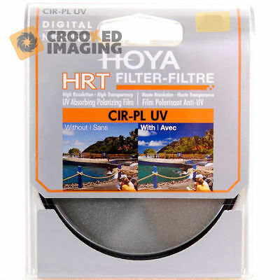 Hoya HRT Digital 49mm 49 Circular Polariser & UV Camera Lens Filter - UK Stock