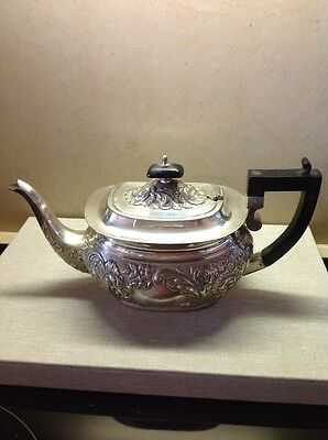 Silver Plated Victorian Teapot