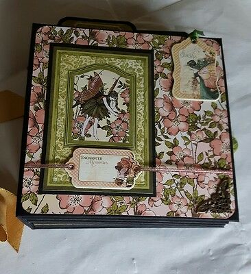 Graphic 45 Once Upon A Springtime 8x8 x 5 Scrapbook Album