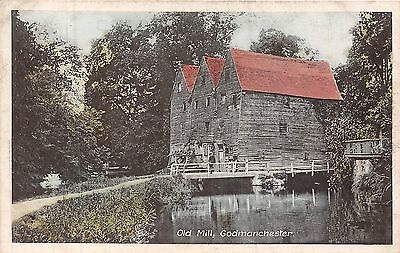 POSTCARD    CAMBS   GODMANCHESTER   Old   Mill