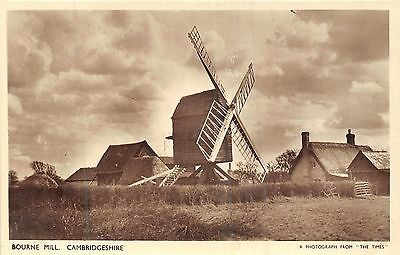 Postcard    Cambs   Bourne  Mill