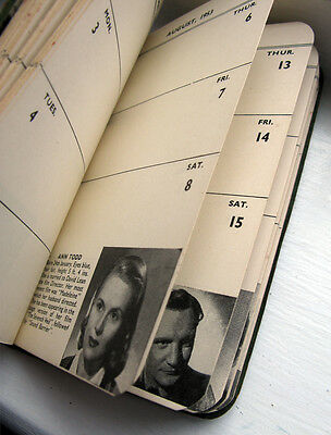 Original Vintage 1953 The Filmgoer's diary published by D Harper London