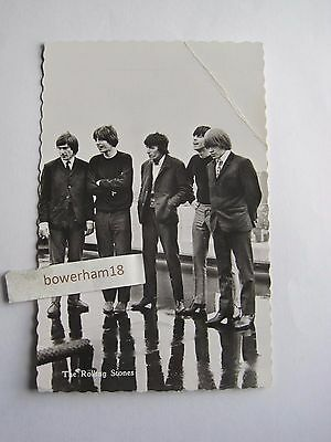 Early rare Rolling Stones postcard 1960s