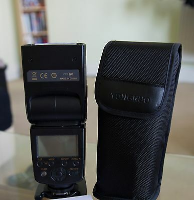 Yongnuo YN-568EX Flash Speedlite TTL HSS for Nikon