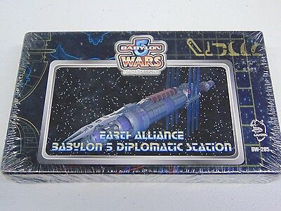 Babylon 5 Earth Alliance Diplomatic Station Miniature New Still Sealed Hc443