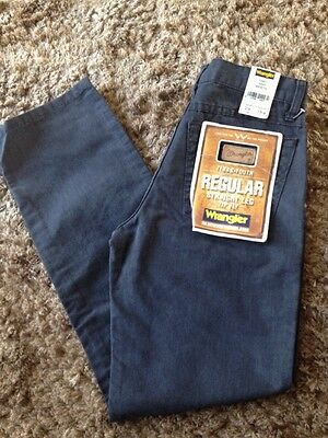 Wrangler Texas Y Blue Straight Leg W28 - L29 New With Tags