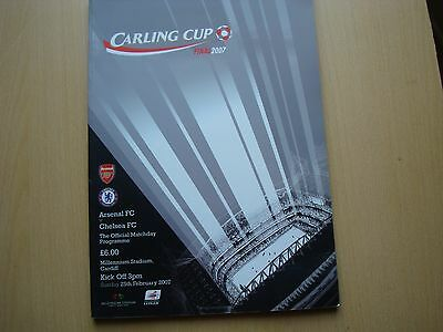 ARSENAL V CHELSEA FEB 2007 (Carling Cup Final)