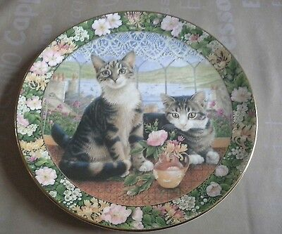 Royal Doulton Cats In The Window Plate