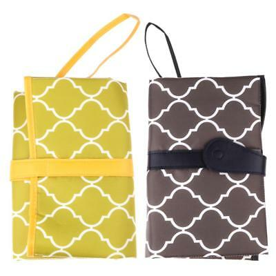 2pc Portable Foldable Baby Kid Mat Pad Cover Change Nappy Bag Travel Pocket