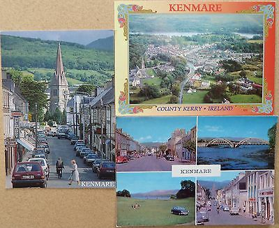 3 Postcards of Kenmare, Co Kerry, Ireland.