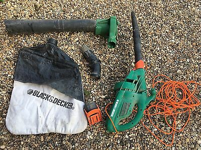 black and decker leaf blower Collector