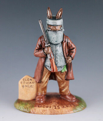 Lovely Royal Doulton Bunnykins figure -  Ned Kelly Bunnykins - DB 406