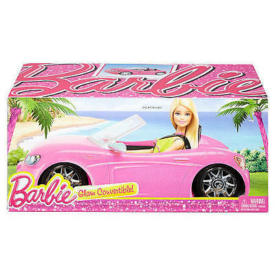Barbie Glam Convertible Pink Dream Car Mattel DGW23 NEW IN BOX!