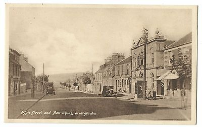 Ross; High St & Ben Wyvis, Invergordon PPC, Unposted