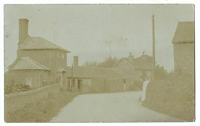Unidentified Early 20th Century Village Scene RP PC Unposted, Location Unknown