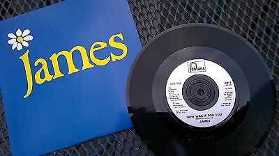 """James 'How Was it For You?' 7"""" vinyl single"""