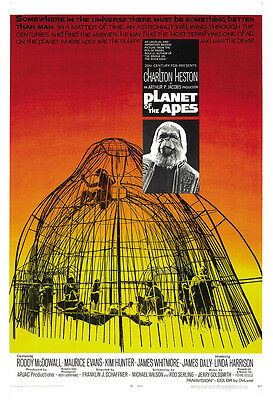 Planet Of The Apes Movie Poster Print - 1968 - Science Fiction - 1 Sheet Artwork