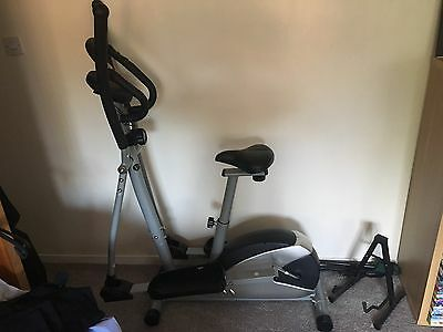 VFit 2 In 1 Cross Trainer & Exercise Bike
