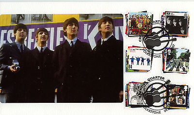2007 Beatles Chaucer Official FDC