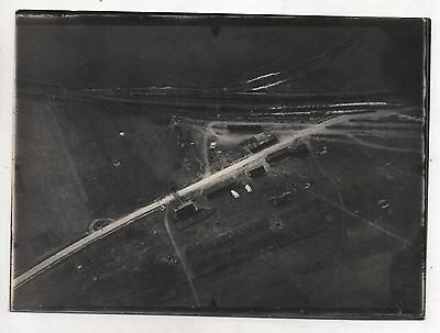 Original Ww1 German Photograph-Aerial Photo-Unknown Location 5