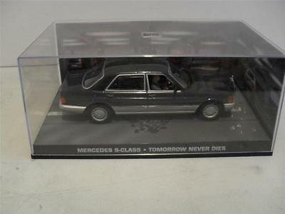 james bond 007 -  ,MERCEDES S-CLASS, DIECAST model 1/43 scale ISSUE 62 . C