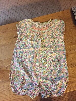Girls Next Ditsy Floral All In One Summer Romper 2-3 Years