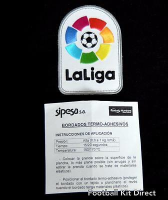 Official La Liga LFP Football Shirt Patch/Badge Player Size 2016/17 embroidered