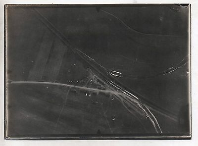 Original Ww1 German Photograph-Aerial Photo-Unknown Location 8