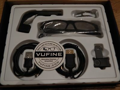 Vufine Wearable Display HUD/FPV Screen Glasses HDMI HD Viewfinder Magnetic