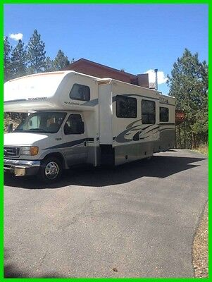 2005 Fleetwood Tioga SL 31' Class C RV V10 Gasoline Slide Out Generator COLORADO