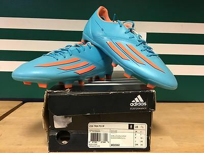 Adidas Women's F30 TRX FG Soccer Cleats (Turquoise) M22252 Size 7.5