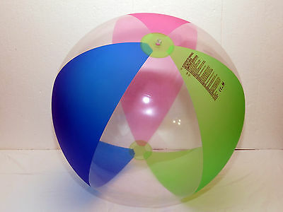 """Inflatable frosted beach ball 48"""" by Bestway"""
