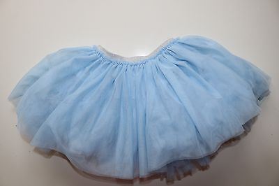 Next- Frozen Party- Princess- Soft Blue Elasticated Tutu Skirt- Girl 9-12 Months