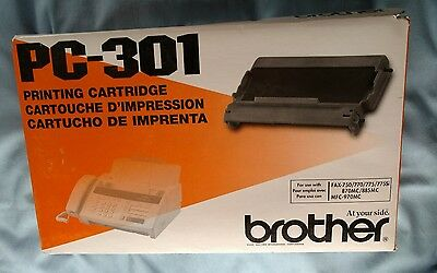 New Genuine Brother PC-301 Fax/Printer  Printing Cartridge  new