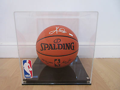 NBA Spalding Signed Autographed Basketball Kyrie Irving Cleveland Cavaliers