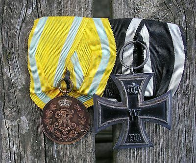 German army mounted medal group   original
