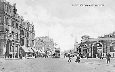 London - Clapham Common Station
