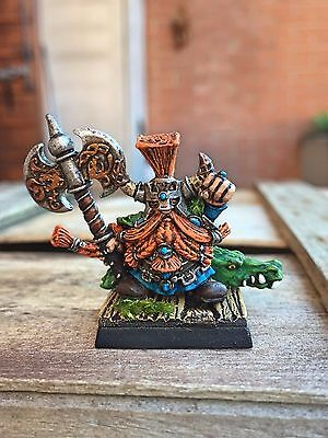 Warhammer Games Workshop dwarf slayer KING UNGRIM IRONFIST Oop master painted