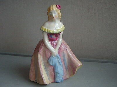 ~ Sweet Little Vintage Crinoline Lady Figurine ~