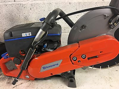 Husqvarna K760 Petrol Disc Cutter. cut off saw