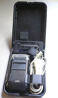"Vintage BRAUN micron 5410 Electric shaver ""Made in Germany"""